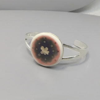 handmade porcelain bangle by Aurora Lombardo designs