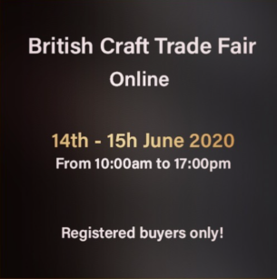 British craft trade fair online